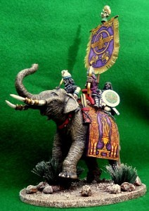 Sassanid king on elephant 2 ELS1