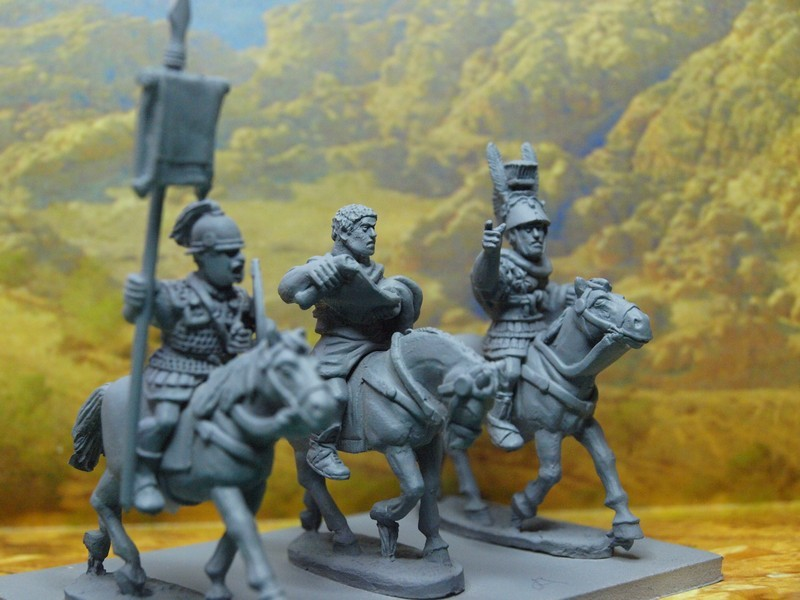 Aventine Mounted Republican Roman Officers