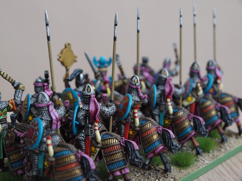 Cataphracts from rear