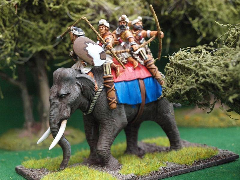 Indian elephant crews
