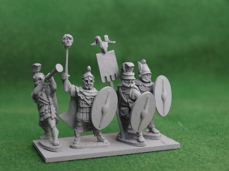 THR001 Thracian command