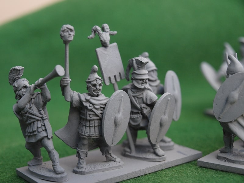 THR001 Thracian command close up