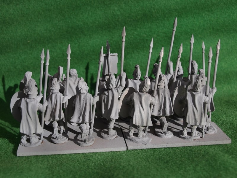 Aventine Miniatures Thureophoroi rear