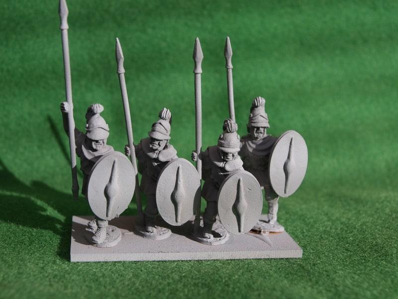 Aventine Miniatures Thureophoroi TH02a