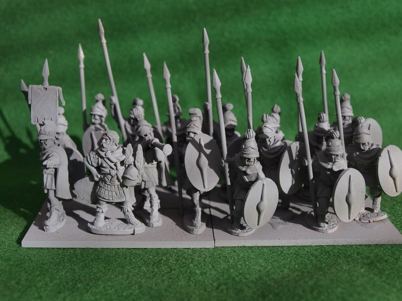 Aventine Miniatures Thureophoroi unit deal UD86a